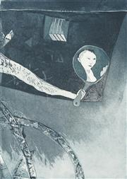Sale 8750 - Lot 2031 - Enid Ratram-Kees (1939 - ) - Self-Adorning, 1984 50 x 33cm
