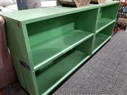 Sale 8740 - Lot 1062 - Timber Fold Out Storage Box on Castors