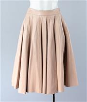 Sale 8800F - Lot 77 - A Zimmerman pink leather panelled skirt, size 0