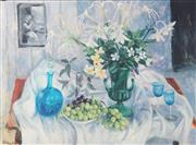 Sale 8896A - Lot 5051 - Margaret Olley (1923 - 2011) - Eucharist Lillies, 2004 91.5 x 109 cm