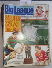 Sale 8404S - Lot 47 - 1988 Big League Programmes - Vol. 69, Nos. 1, 2, 3, 4, 5, 6, 7, 8, 9, 10, 12, 13, 14, 15, 16, 17, 20, 21, 23, 24, 25, 26, 27