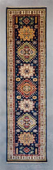 Sale 8480C - Lot 77 - Afghan Super Fine Kazak 311cm x 80cm