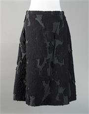 Sale 8493A - Lot 7 - A Piazza Sempione woolen Italian made skirt with patterned detail, Size 8