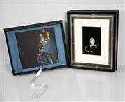 Sale 8592A - Lot 5016 - Eve Arnold (1912 - 2012) - Marilyn Monroe, 1960 & Marilyn Monroe by Eve Arnold (book) 21.5 x 14.5cm (frame size: 41 x 33.5cm)