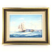 Sale 8545N - Lot 54 - Ian Hansen, oil on board, signed lower right - 34cm x 24cm