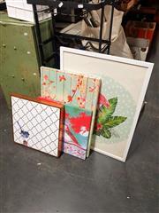 Sale 8695 - Lot 2081 - 4 Decorative Prints