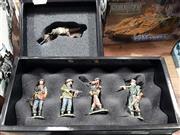 Sale 8817C - Lot 543 - K&C Figures (2); Fighting Patrol & 1st Airborne Lying Bren Gun
