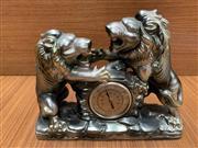 Sale 9022 - Lot 1053 - Vintage Japanese Figural Lustreware Thermometer by Minko (l:25cm)