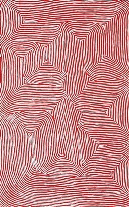 Sale 9191H - Lot 84 - JAKE TJAPALTJARRI (1970 - ) - Tingari 153 x 96 cm