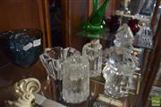 Sale 8306 - Lot 88 - Pukeberg Crystal Viking Figure with Other Crystal incl. Orrefors