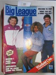 Sale 8404S - Lot 48 - 1989 Big League Programmes. - Vol. 70, Nos. 1, 2, 4, 5, 6, 7, 8, 9, 10, 11, 12, 13, 14, 15, 16, 17, 18, 19, 20, 21, 22, 23, 24, 26, 27