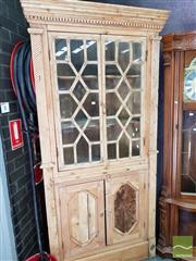 Sale 8469 - Lot 1001 - Pine Corner Cabinet