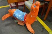 Sale 8528 - Lot 1096 - Carnival Seal Figure