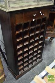 Sale 8542 - Lot 1029 - Timber Wine Rack