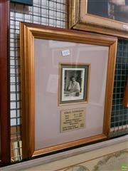 Sale 8582 - Lot 2143 - Albert Schwatzer Framed Signed Print