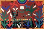 Sale 8756A - Lot 5008 - John Coburn (1925 - 2006) - Paradise Garden, 1988 55 x 75cm