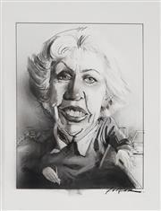 Sale 8883A - Lot 5012 - Bill Leak (1956 - 2017) - Ruth Park 31 x 23 cm