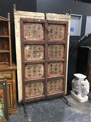 Sale 8851 - Lot 1015 - Castle Door Form Screen