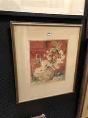 Sale 8865 - Lot 2045 - Eileen Reeve - Still Life 27 x 22.5cm