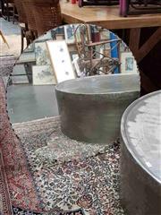 Sale 8912 - Lot 1046 - Art Deco Scalloped Edge Mirror