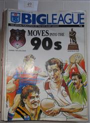 Sale 8404S - Lot 49 - 1990 Big League Programmes - Vol. 71, Nos. 7th Feb, 1, 2, 3, 4, 5, 6, 7, 8, 10, 11, 12, 13, 14, 15, 16, 17, 18, 19, 20, 21, 22, 23,...