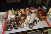 Sale 8509 - Lot 2322 - Group of Pottery incl Bendigo & Diana