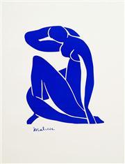 Sale 8592A - Lot 5064 - Henri Matisse (1869 - 1954) - Nu Bleu 70 x 55cm (frame size: 98 x 84cm)