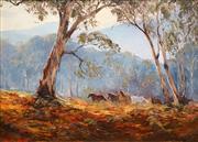 Sale 8683 - Lot 524 - Kevin Best (1932 - 2012) - Brumbies 28 x 38cm