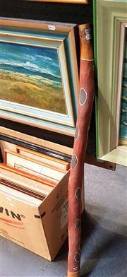 Sale 8695 - Lot 2038 - Didgeridoo, h. 114cm