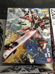 Sale 8789 - Lot 2177 - Preassembled Boxed Justice Gundam Z.A.F.T Mobile Suite by Ban Dai