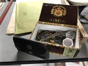 Sale 8789 - Lot 2317 - Box of Watches, Cuff Links, Wallet etc