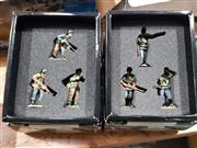 Sale 8817C - Lot 544 - K&C Figures (2); Over There & Advancing on Enemy