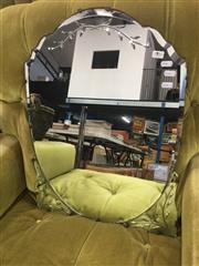 Sale 8822 - Lot 1785 - Art Deco Bevellede Edge Mirror