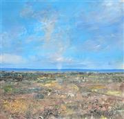 Sale 8901A - Lot 5059 - John Earle (1955- ) - Piscaen Landscape 25 x 26 cm