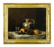Sale 9080J - Lot 88 - Gustave Claude Courtois 1852 - 1923 - Still Life 38 x 46 cm