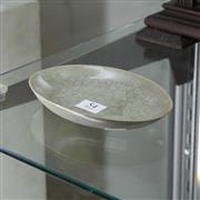 Sale 8351 - Lot 54 - Oval Shaped Celadon Glazed Dish