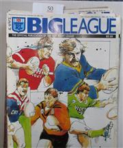 Sale 8404S - Lot 50 - 1991 Big League Programmes - Vol. 72, Nos. 1, 2, 3, 4, 6, 7, 8, 9, 10, 11, 12, 13, 14, 15, 16, 17, 18, 20, 22, 23, 24, 25, 26, 27, 2...