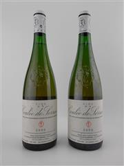 Sale 8479 - Lot 1812 - 2x 2000 Nicolas Joly Clos de la Coulee de Serrant, Savennieres