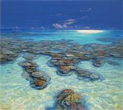Sale 8692 - Lot 522 - David Brayshaw (1960 - ) - Swain Reef, Barrier Reef Series 91 x 101cm