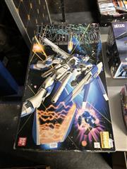 Sale 8789 - Lot 2181 - Preassembled Boxed RX-V2 Hi-V Gun Dam by Ban Dai