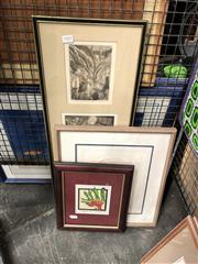 Sale 8789 - Lot 2105 - Group of original Prints by Various Artists, framed and various sizes