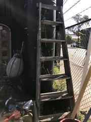Sale 8822 - Lot 1510 - Timber A Frame Ladder
