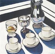Sale 9009A - Lot 5051 - Margaret Preston (1875 - 1963) - Still Life 42 x 43 (frame: 70 x 71 x 3 cm)