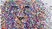 Sale 9034A - Lot 5027 - Tracy Keller - Lion cub 80 x 140 cm