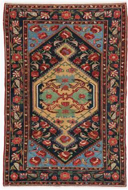 Sale 9123J - Lot 75E - Persian Antique c1920 Malayer rug. Fully colour matured in perfect condition 200 x 135cm