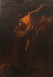 Sale 8665A - Lot 5071 - Artist Unknown (C19th) - The Descent from the Cross 38 x 26.5cm
