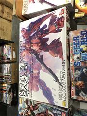 Sale 8789 - Lot 2176 - Preassembled Boxed Neo Zeon MSN-04 Sazabi by Ban Dai