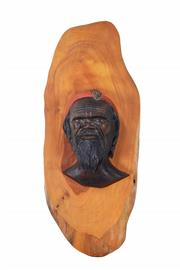 Sale 8425 - Lot 89 - Leslie Douglas Webb Aboriginal Bust
