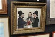Sale 8349A - Lot 111 - Artist Unknown (XIX) - Taking a Smile 24.5 x 29cm