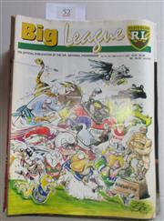 Sale 8404S - Lot 52 - 1995 Big League Programmes - Vol. 76, Nos. 1, 2, 3, 4, 5, 6, 7, 8, 9, 10, 11, 12, 13, 14, 15, 16, 17, 18, 19, 20, 21, 22, 23, 24, 25...